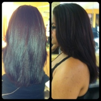Color and blowdry
