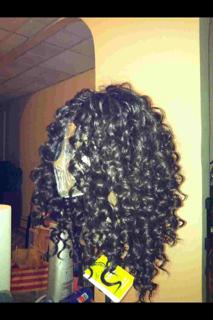 Custom Made Glued Wig (1)